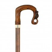 Brown Shepherd's Crook Collectors' Walking Stick