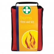 Burns First Aid Kit in Red Stockholm Bag