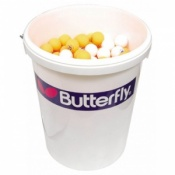 Butterfly Skills Bucket with 288 Youth Training Balls