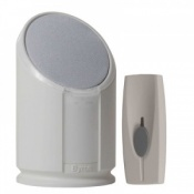 Byron Portable Flash Chime Doorbell BY301