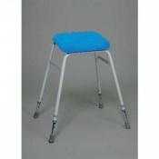 Ex Demo Perching Stool With Polyurethane Seat