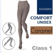 Sigvaris Unisex Comfort Class 1 (RAL) Caramel Compression Tights