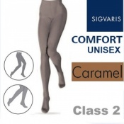 Sigvaris Unisex Comfort Class 2 (RAL) Caramel Compression Tights