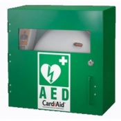 CardiAid Basic Indoor Cabinet with Metal Cover
