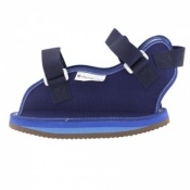 Open Toe Cast Sandal With Buckles