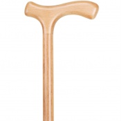 Economy Beech Crutch Handle Wooden Walking Stick