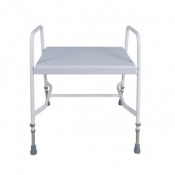 Cefndy Mediatric Adjustable Height Shower Stool with Back Support