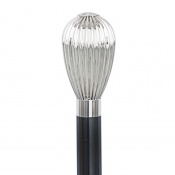 Chrome-Plated Balloon Walking Cane