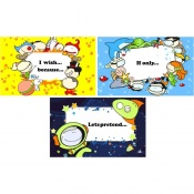 Circle Time Imagination Discussion Cards Saver Pack