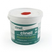 Clinell Universal Sanitising Wipes (4 Buckets of 225 Wipes)