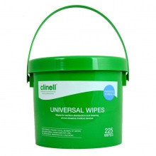 Clinell Universal Sanitising Wipes (24 Packs of 40 Wipes)