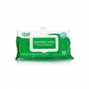 Clinell Universal Sanitising Wipes (24 Packs of 50 Wipes)