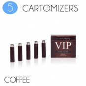 VIP Electronic Cigarette Coffee High Strength E-Liquid Cartomisers