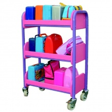 Compact 15 Lunch Box Storage & Transportation Trolley
