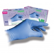 Confidence Nitrile Powder-Free Disposable Gloves NPF