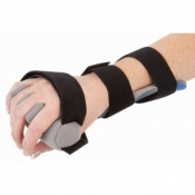 Contour Hand Positioning Brace with Finger Separators
