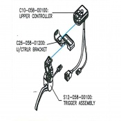 Replacement Controller for Drive Medical Powerstroll S-Drive