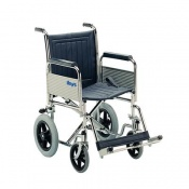 Days Chrome-Plated Attendant Propelled Wheelchair