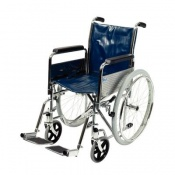 Days Chrome-Plated Self-Propelled Wheelchair