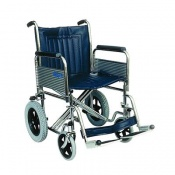 Days Heavy Duty Chrome-Plated Attendant Propelled Wheelchair