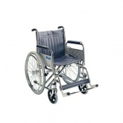 Days Heavy Duty Chrome-Plated Self-Propelled Wheelchair