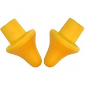 Deluxe Folding Earplug Replacement Foam Pods - 10 Pack