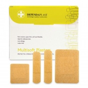 Dependaplast Multisoft Assorted Plasters (Pack of 100)
