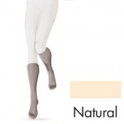 Sigvaris Diaphane Calf 15-21 mmHg Natural Open Toe Compression Stockings