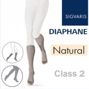 Sigvaris Diaphane Calf Class 2 Natural Compression Stockings