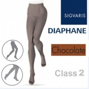 Sigvaris Diaphane Class 2 Chocolate Compression Tights