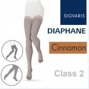 Sigvaris Diaphane Thigh Class 2 Cinnamon Compression Stockings