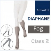 Sigvaris Diaphane Thigh Class 2 Fog Grey Compression Stockings