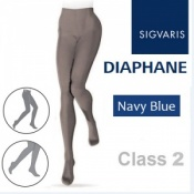 Sigvaris Diaphane Class 2 Navy Blue Compression Tights