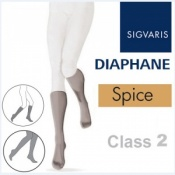Sigvaris Diaphane Calf Class 2 Spice Compression Stockings