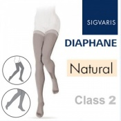 Sigvaris Diaphane Thigh Class 2 Natural Compression Stockings