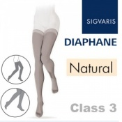 Sigvaris Diaphane Thigh Class 3 Natural Compression Stockings