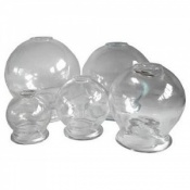 Individual Glass Cupping Jars