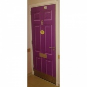 Door-Cal Six Panel Door Decal