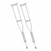 Drive Medical Aluminium Underarm Youth Crutches