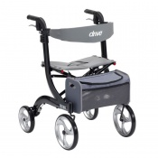 Drive Medical Black Nitro Rollator