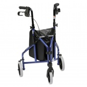 Drive Medical Two-Piece Blue Ultra Lightweight Triwalker with Bag Only