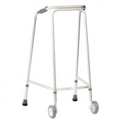 Drive Medical Domestic Large Walking Frame with Wheels