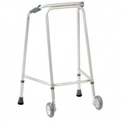 Drive Medical Domestic Medium Walking Frame with Wheels