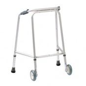 Drive Medical Domestic Small Walking Frame with Wheels