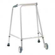 Drive Medical Hospital Medium Walking Frame with Wheels