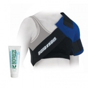 Dura Soft Shoulder Ice Pack Wrap and Biofreeze Pain Relieving Gel Saver Pack