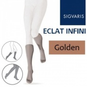 Sigvaris Eclat Infini Calf Compression Stockings - Golden