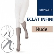 Sigvaris Eclat Infini Calf Compression Stockings - Nude
