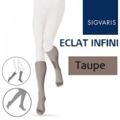 Sigvaris Eclat Infini Calf Compression Stockings - Taupe