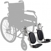 Elevating Leg Rests for Harvest Wheelchairs